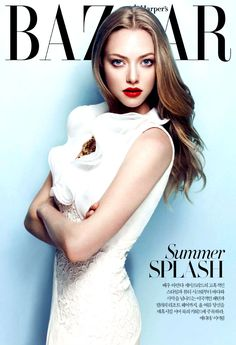 Amanda Seyfried by Ahn Jooyoung for Harper's Bazaar Korea July 2013