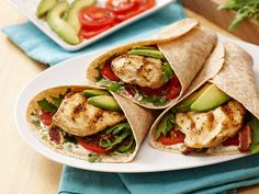 Grilled Chicken Arugula Salad Wrap | PERDUE®