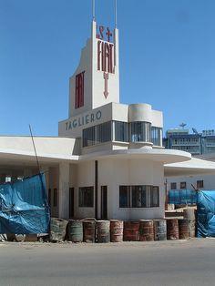 Benzianaio Tagliero, Eritrea, Asmara / lucam0039 #flickr #asmara #futurismo #architettura