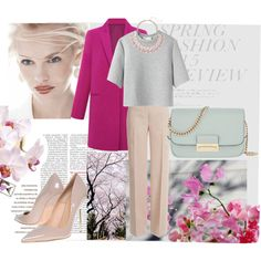 spring look by dariaplava on Polyvore featuring мода, 3.1 Phillip Lim, Emilio Pucci, Kurt Geiger, Henri Bendel and GINTA
