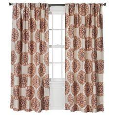 Threshold™ Medallion Curtain Panel  http://www.target.com/p/threshold-medallion-curtain-panel/-/A-14902495#prodSlot=medium_1_23&term=drapes
