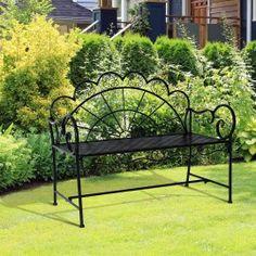 Poze BAN203 - Banca metalica gradina, exterior Outdoor Furniture, Outdoor Decor, Bench, Park, Metal, Home Decor, Homemade Home Decor, Benches, Parks