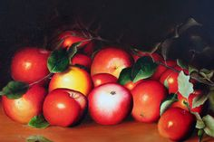 I am so proud of this oil painting; it took a long time and I was very happy with the end product. It is based upon a famous apple still life by Wilmoth. (I'm unsure of the spelling of the artist's name!) But even though I thought I did a good job, this was the point were I decided that realism just wasn't my jam, and I moved away from realism and oils, and into abstraction and acrylics.