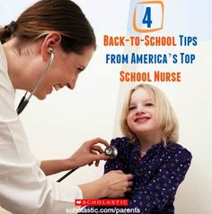 4 back-to-school tips from America's top nurse.