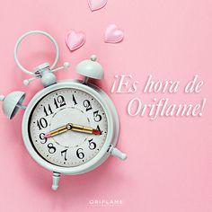 #OriQuote ¡Para un #Oriflamer 100%, SIEMPRE es hora de Oriflame!