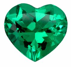 Colombian Emerald Heart shape | Flickr - Photo Sharing!