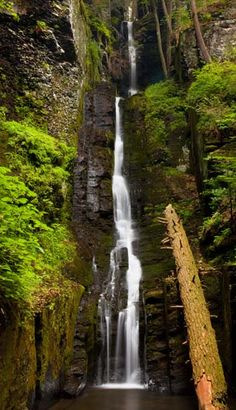 Visit the Silverthread Falls at Delaware Water Gap National Recreation Area…