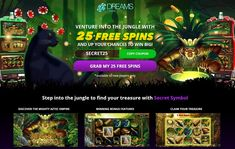 Dreams casino accepts players from the United States. Get 25 free spins on Secret Symbol. Plus, welcome match bonus Aztec Empire, Online Lottery, Best Casino, Casino Bonus, Online Casino, Spinning, Finding Yourself, United States, Symbols