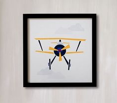 Stacked Plane Wall Art by Minted® #pbkids