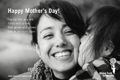 """Day by day, you are filled with a love that grows and grows."" - Ester M, Barcelona, Spain #MothersDay #quotes"