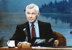 Johnny Carson- great memories of late night watching with my dad