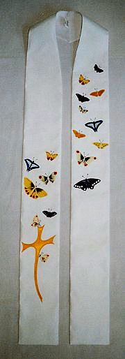 Easter stole! Make one with Fabric for Priest For Youth Night Mass
