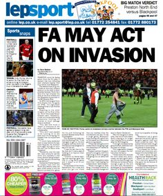 Today's back page 06-08-13