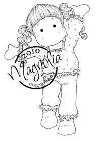 Magnolia MINI 313 HAPPY TILDA Rubber Stamp Raising the Ceiling 2010
