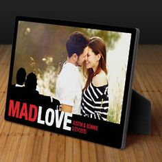 Mad Love Personalized Photo Display