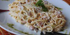 Špagety Carbonara - Tinkine recepty