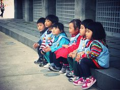 'Love is the root of missions; sacrafice is the fruit of missions.' <3 my beautiful kids in Korea.