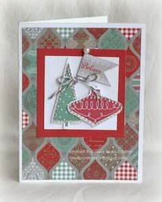 Gina's Little Corner of StampinHeaven Christmas Cards 2017, Xmas Cards, Holiday Cards, Christmas Greetings, Holiday Gift Guide, Holiday Gifts, Little Corner, Scrapbook Paper Crafts, Scrapbooking