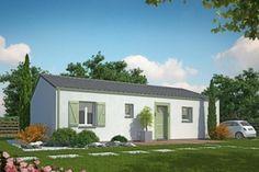 Appelez l'agence MCA de Blaye au 0616551745 pour construire cette maison optimisé pour les famille au jeune budget qui aime la modernité. Il y a 3 chambres, un salon séjour cuisine américaine et cellier et pensé pour accueillir le maximum de lumière. Sur un terrain de 800m2 entièrement viabilisé sur Saint Caprais de Blaye