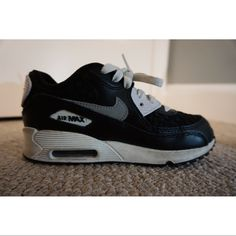 sale retailer 1a3db dec52 Nike Shoes   Youth Nike Air Max   Color  Black White   Size
