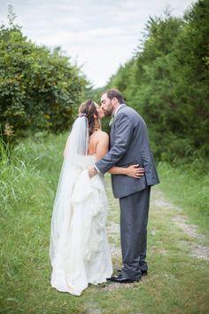 Bride and groom <3 Photo by Krista Lee, From Cassie + Chris' wedding at Cedarwood, Nashville TN #airstream #wedding