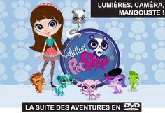 Hello, Il y a quelque temps, je vous avais fait gagner le tout premier DVD Littlest Pet Shop sur le blog. Et aujourd'hui, j'ai le plaisir de vous proposer un concours pour gagner le DVD de leurs nouvelles aventures intitulées Lumières, Caméra, Mangouste...
