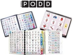 This page has some PODD books in boardmaker format