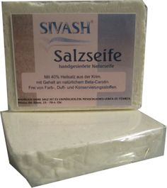"""Sivash Salzseife mit 40% natürlichem, rosafarbenen Heilsalz von der Krim. Handgemacht, mit natürlichen Zutaten von """"Bibibest Cosmetics"""""""