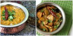 Toor ki Dal & Jeera Aloo/ Lentil and Yellow Split Pea Soup & Potatoes