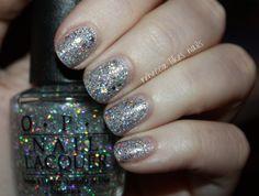 rebecca likes nails: super holo glitter bomb
