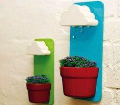 Regenwolken boven je plantenpot