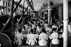 Fabrikarbeiterinnen bei Maggi, ca. 1900