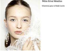 White Silver Eyes  Harpers Bazaar