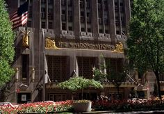 Waldorf Astoria New York is known for being one of the best hotels in the city!