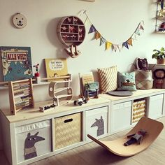 [KINDERBÜCHER] Today starts again a great challenge! – by Babyhitparade and @ tidy_books … - Baby Bedroom, Baby Boy Rooms, Baby Room Decor, Nursery Room, Kids Bedroom, Tidy Books, Children's Books, Shared Bedrooms, Kids Room Design