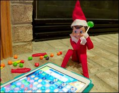 Elf is addicted to Candy Crush too!