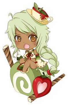 This character has been adopted by _____________________________________ I was watching draw on join me the other day, and I wanted to draw a green tea themed gjinka. this is what came of tha. Manga Kawaii, Cute Anime Chibi, Kawaii Chibi, Kawaii Art, Cute Food Drawings, Kawaii Drawings, Cute Drawlings, Cute Art, Character Art