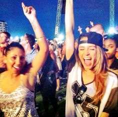Danielle Peazer at Wireless in London