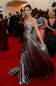 Lily Aldridge | All The Pretty Dresses From The 2014 Met Ball WOW