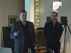 Järvi-Saimaan Simo Kaksonen ja Jukka Partanen juttelivat siita miten kolmen kunnan tekniikan yhtiö avaa mahdollisuuksia ja yhteistyötä uuden työn tekemiselle.
