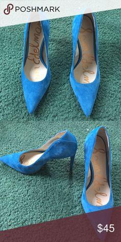 Sam Edelman pumps Never worn, size 6. Blue Sam Edelman pumps Sam Edelman Shoes Heels