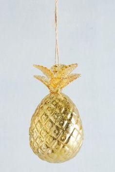 Gilded Christmas Ornament
