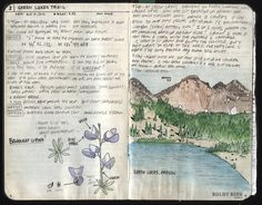 The Journal Diaries- Kolby's Hiking Journals / Seaweed Kisses