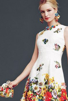 Dolce & Gabbana Woman's Apparel - Collection Fall Winter 2014 2015