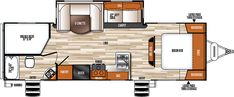 Vibe Extreme Lite 261BHS Travel Trailers by Forest River RV