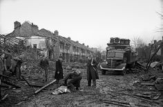 After a raid, Coventry 1940