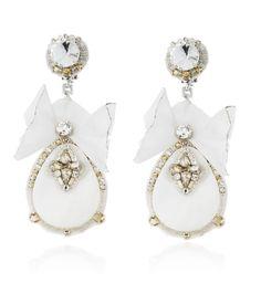 byRanjana Khan  see details here:Elegant Ivory Teardrop Earrings
