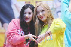 Pristin Eunwoo & Xiyeon