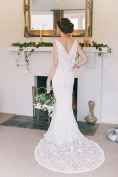 50 Dreamy Wedding Dresses You'll Fall in Love With I like this one Vic. Great back that's not slutty.