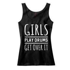 Girls Play Drums. Get Over It